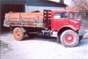 Huizer  Stad ah haringvliet 51-TB-20  Ford  dumptruck