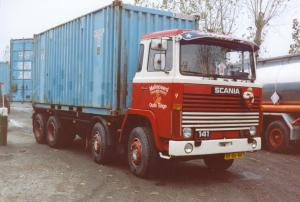 Maliepaard Oude Tonge  BD-86-RB  Scania 141