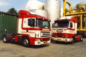 Maliepaard  Oude Tonge  VT-64-NG  Scania 113M 320  Streamline + Hendrikse  Oude Tonge  BF-VR-88  Scania 124L 360