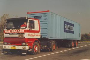 Maliepaard  oude Tonge  BF-11-GD  Scania 112M