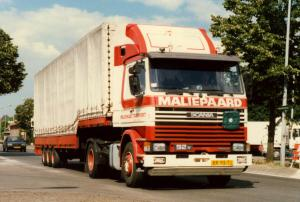 Maliepaard  oude Tonge  BR-98-TJ  Scania 92M ic