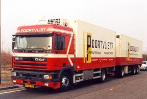 Poortvliet  Ouddorp  BD-GX-83   DAF 95-400  Spacecab