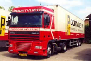 Poortvliet  Ouddorp  BF-ZH-02  DAF 95XF-380   Spacecab