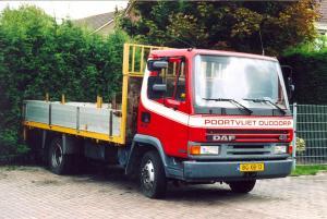 Poortvliet  Ouddorp  BG-XB=13    DAF 45