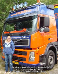 Chauffeur en zijn truck