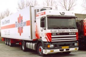 van  Dongen  Dirksland     VK-40-GD   DAF  95-360  Spacecab    No 78