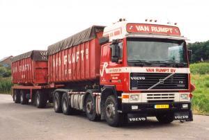 van  Rumpt  Stad  ah  Haringvliet  VR-99-'KT Volvo  F-12  Gltr